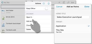 creating your first customization shareplus ios help