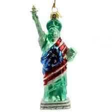 buy kurt adler statue of liberty ornament in cheap price