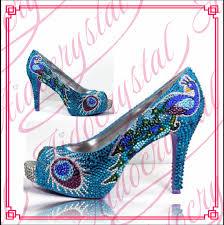Peacock High Heels Popular Peacock Blue Shoe Buy Cheap Peacock Blue Shoe Lots From