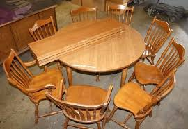 solid maple dining table round maple dining table lot 4 round flint ridge solid maple dining