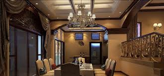 dining room interior design rendering 3d indian style interior