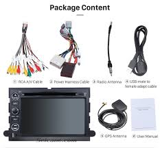 2007 2010 ford expedition u324 android 6 0 1024 600 dvd player
