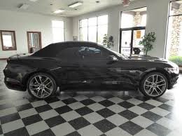 Black Mustang Gt 2015 2015 Ford Mustang Gt Premium 2dr Convertible In Whitehall Mi