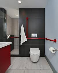 Gray Blue Bathroom Ideas Bathroom Design Awesome Red Black And Grey Bathroom Decor Red
