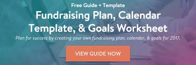 how to develop and maintain your fundraising calendar
