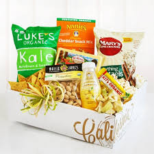 Organic Gift Baskets Organic Snacks Gift Box California Delicious