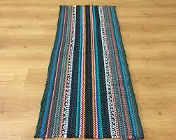 Rag Rugs For Kitchen Mat Runner Etsy