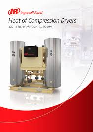 heat of compression dryers ingersoll rand pdf catalogue