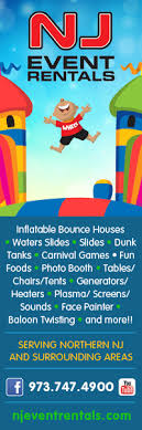 dunk tank rental nj rentals nj bounce house slide rentals nj