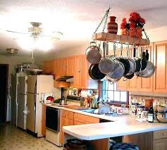 Kitchen Island With Hanging Pot Rack Kitchen Island Pot Rack Kitchen Island Hanging Pots Biceptendontear