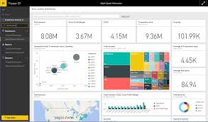 connect to microsoft dynamics ax content pack with power bi