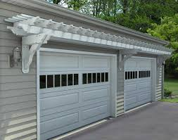 garage doors staggering trellis over garage door images ideas