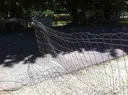 vintage woven wire round top garden fence gate trellis sold by the