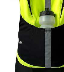 hi vis winter cycling jacket high vis reflective cycling jersey made for visibility and