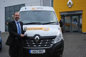renault ireland dennehy motors win 2014 national lcv dealer of the year award