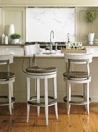 bar stools wood and leather kitchen black metal counter height bar stool with leather swivel