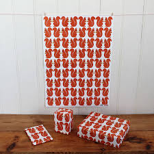 wrapping paper sheets squirrel wrapping paper two sheets by sukie notonthehighstreet