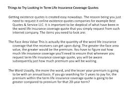 term life quote plus 4 things to try looking in term life insurance coverage existence quotes 75 and term life insurance comparison india