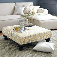 Big Ottoman Large Ottoman Coffee Table Large Ottomans With Storage Living