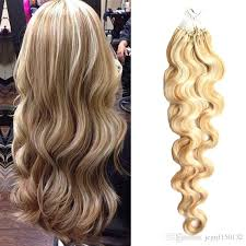micro loop hair extensions thick loop hair extensions piano color 27 613 micro ring