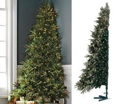 half christmas tree space saving solutions for your christmas tree south shore