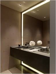 lovely design ideas recessed bathroom mirror lighting