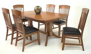 new suburban home trestle dining table and chair set broadway