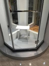 Bathroom Chair Stool New Matte Modern Curved Bathroom Seat Stool Bathroom Steam Shower