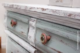 painting a desk white distressed chalk paint desk makeover how to nest for less