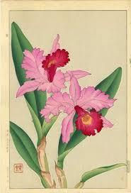 Japanese Flower Artwork - kawarasaki vokes 4 vintage flowers pinterest japanese