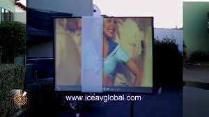 world u0027s brightest daytime projection screen outdoor demonstration