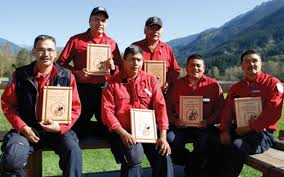 Wildfire Bc Jobs by Salish Wildfire Crew Awarded For 25 Years Of Service Sea To Sky