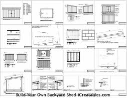 Free Saltbox Wood Shed Plans by Lev August 2014
