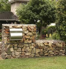 Rock Garden Wall How To Build A Gabion Wall Gardendrum