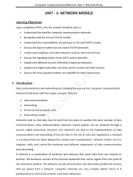 ccn notes for unit 1 vtu students prof suresha v osi model