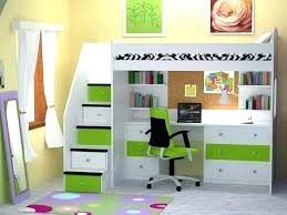 twin bunk bed with desk underneath loft beds with desk and storage twin loft bed desk elevated bed with