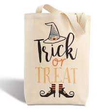 personalized halloween trick or treat bags lillian vernon