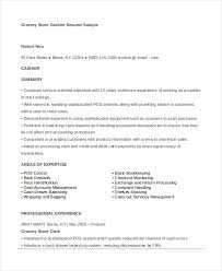 grocery store cashier description for resume 28 images grocery