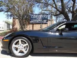 corvette warehouse dallas black chevrolet corvette in dallas tx for sale used cars on