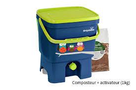 composteur de cuisine composteur bokashi des déchets ménagers sans odeurs et rapide organico