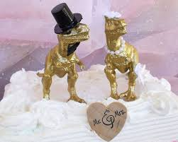 41 best dinosaur wedding cake toppers images on