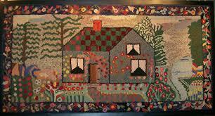 folk hooked rugs roselawnlutheran