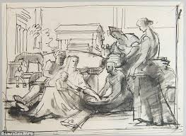art forger eric hebborn u0027s sketches to be auctioned daily mail online