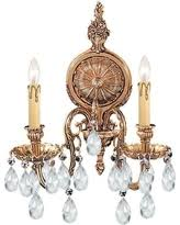 Swarovski Wall Sconces Bargains On Solid Cast Ornate Wall Sconce
