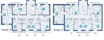 plan d une chambre d hotel chambre hôtel gérardmer hébergement de vacances vosges