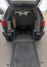 2007 dodge grand caravan liberty rear entry van mobility