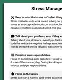 stress worksheets therapist aid