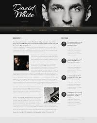personal page website template 40592 website templates zeronese