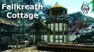 how to build your home fellkreath cottage build your own home skyrim player house mod