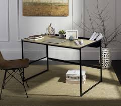 modern contemporary desks fox2222a desks furniture by safavieh